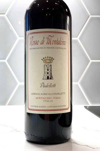 2016 Padelletti Rosso di Montalcino ©Kevin Day/Opening a Bottle