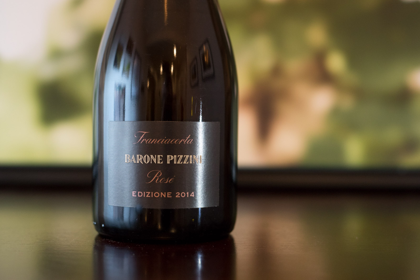 2014 Barone Pizzini Rosé Franciacorta ©Kevin Day/Opening a Bottle