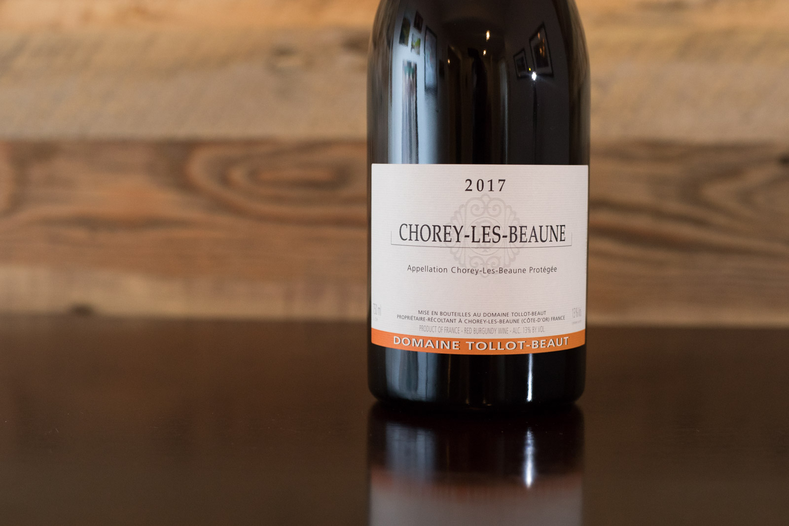 2017 Domaine Tollot-Beaut Chorey-les-Beaune ©Kevin Day/Opening a Bottle