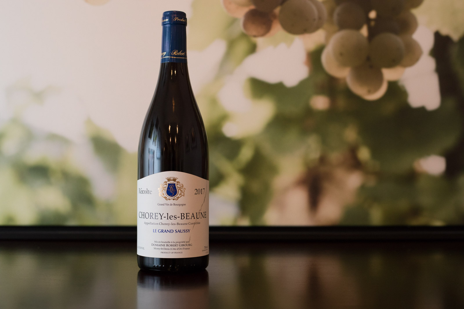 """2017 Domaine Robert Gibourg """"Le Grand Saussy"""" Chorey-les-Beaune ©Kevin Day/Opening a Bottle"""