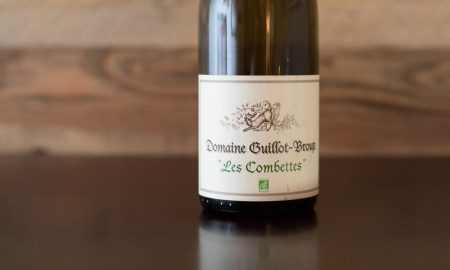 "2017 Domaine Guillot-Broux ""Les Combettes"" Mâcon-Chardonnay ©Kevin Day/Opening a Bottle"