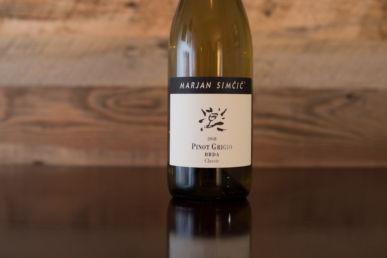 2018 Marjan Simčič Pinot Grigio Brda Classic ©Kevin Day/Opening a Bottle