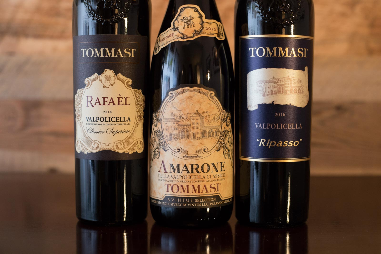 The Valpolicella wines of Tommasi. ©Kevin Day/Opening a Bottle