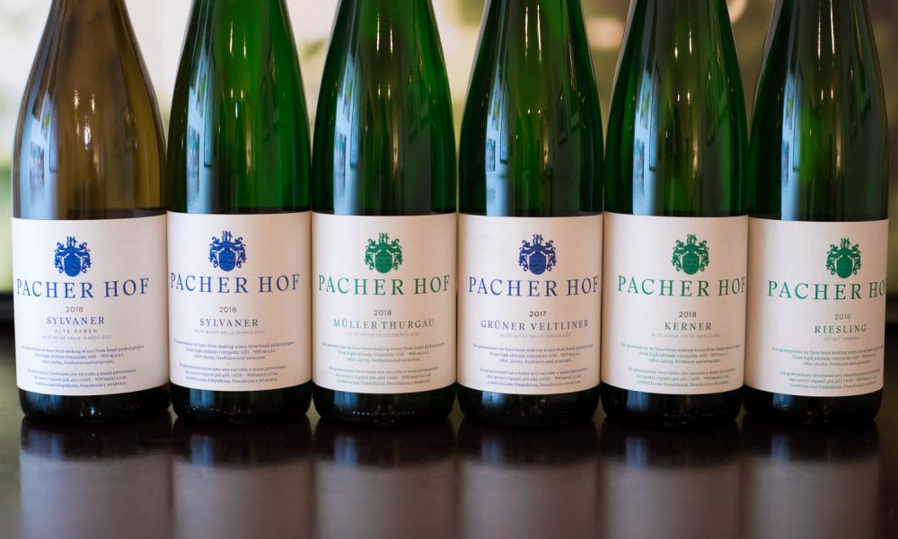The wines of Pacherhof ©Kevin Day/Opening a Bottle