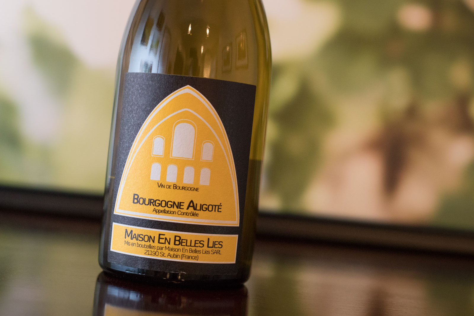 Maison en Belles Lies outstanding Aligoté ranks as one of my favorite French white wines of all time. ©Kevin Day/Opening a Bottle