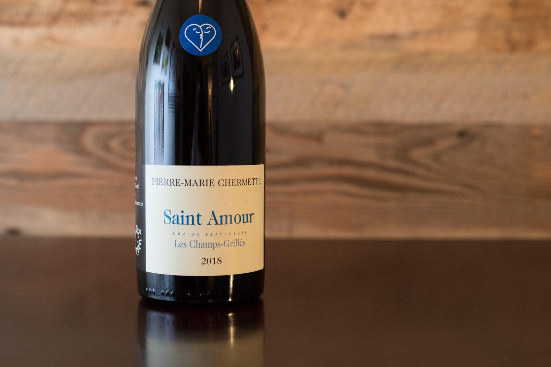 """2018 Pierre-Marie Chermette """"Les Champs-Grillés"""" Saint-Amour ©Kevin Day/Opening a Bottle"""