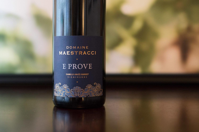2016 Domaine Maestracci E Prove Rouge Corse Calvi ©Kevin Day/Opening a Bottle