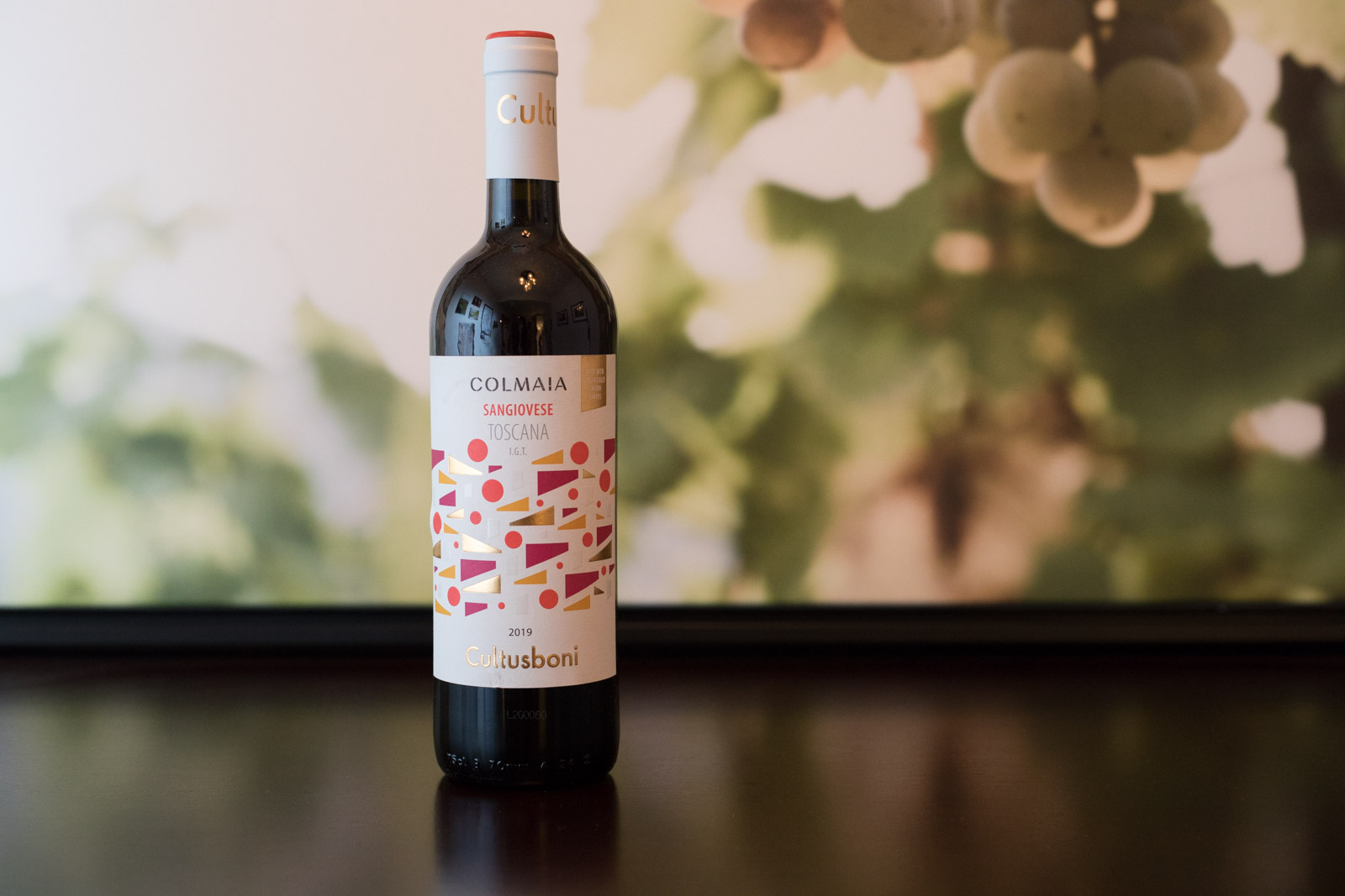 """2019 Cultusboni """"Colmaia"""" Sangiovese Toscana ©Kevin Day/Opening a Bottle"""