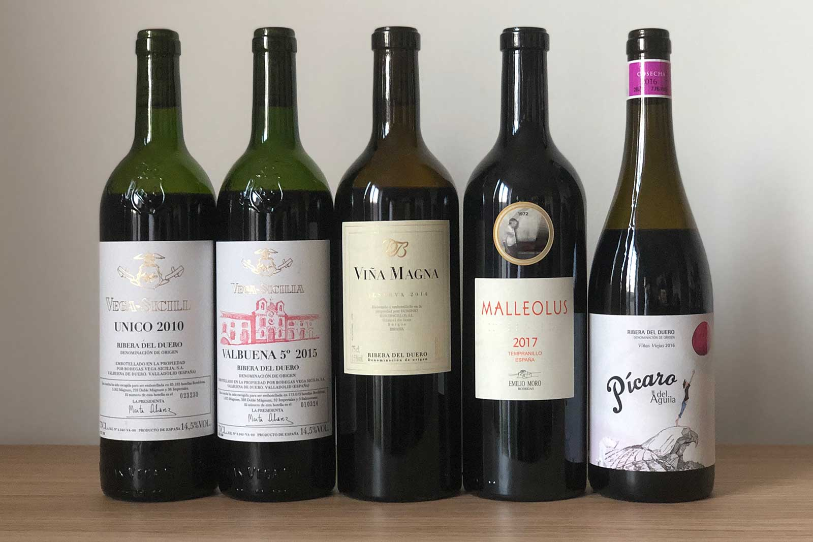 Wines to seek out for your first taste of Ribera del Duero. ©Clay Dillow for Opening a Bottle