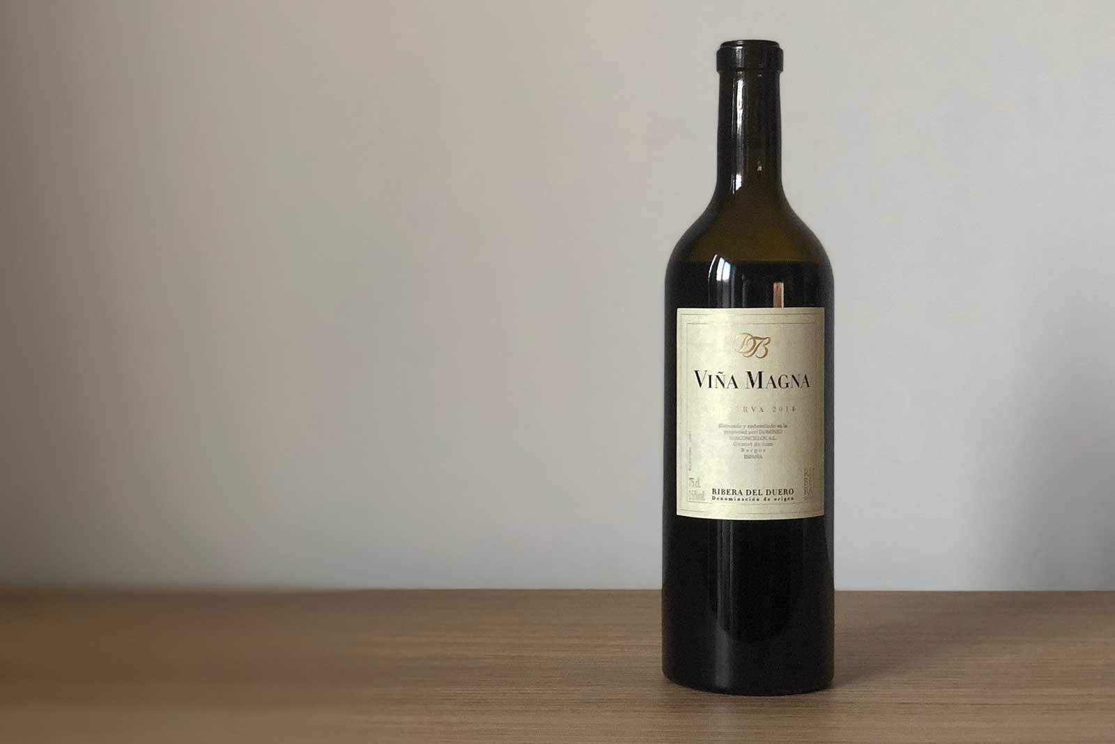 """2014 Dominio Basconcillos """"Viña Magna"""" Reserva ©Clay Dillow for Opening a Bottle"""