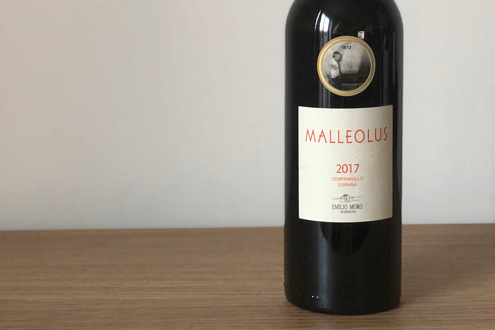 """2017 Emilio Moro """"Malleolus"""" ©Clay Dillow for Opening a Bottle"""