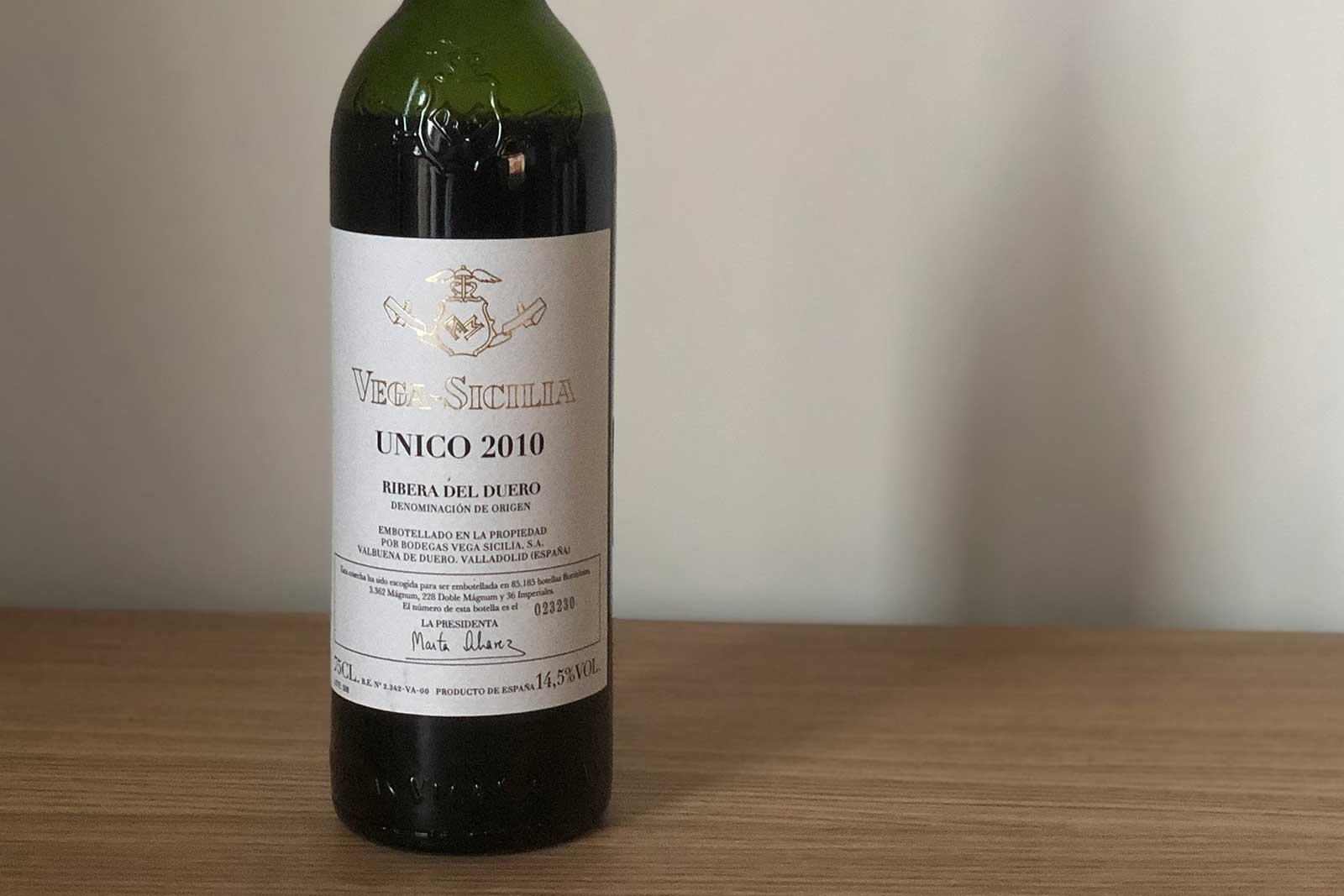 """2010 Vega Sicilia """"Único"""" Ribera del Duero ©Clay Dillow for Opening a Bottle"""