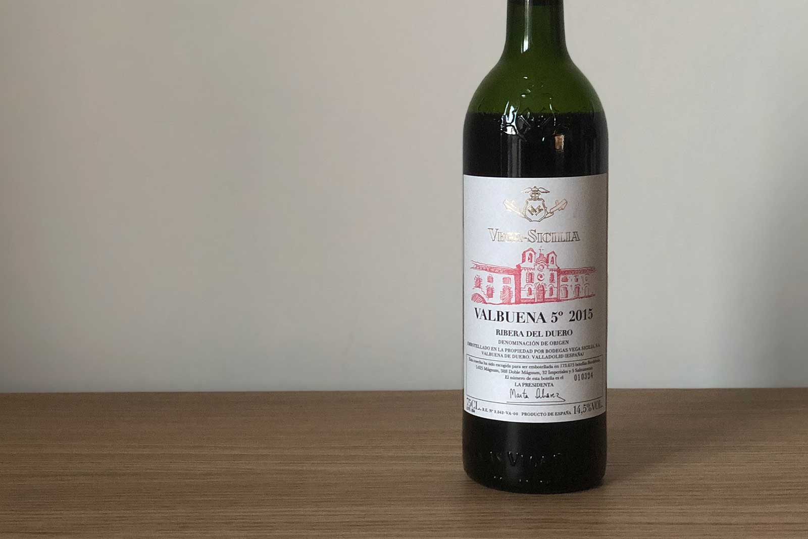 "2015 Vega Sicilia ""Valbuena 5°"" Ribera del Duero ©Clay Dillow for Opening a Bottle"