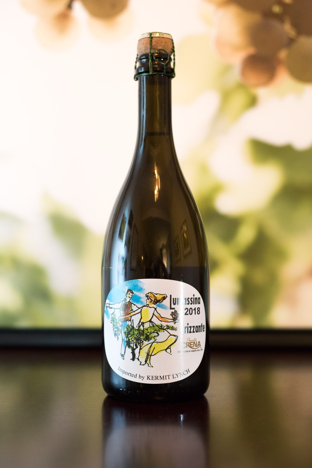 Punta Crena's Lumassina Frizzante is an absolute blast to drink. ©Kevin Day/Opening a Bottle