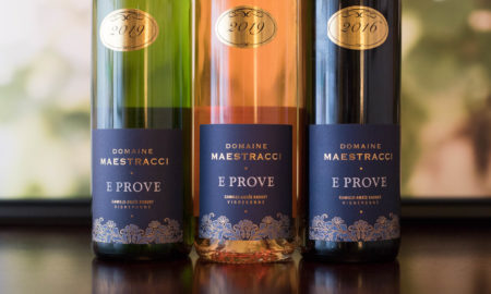 The E Prove Corse Calvi wines of Domaine Maestracci. ©Kevin Day/Opening a Bottle