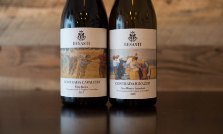 Benanti's spectacular Contrada Cavaliere Etna Rosso and Contrada Rinazzo Etna Bianco Superiore ©Kevin Day/Opening a Bottle