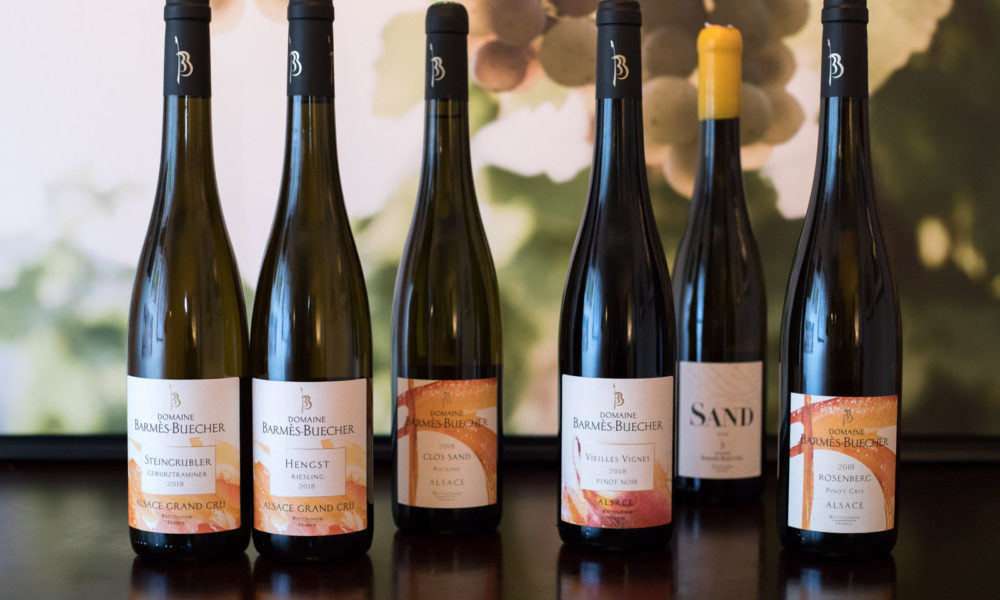 The wines of Alsace's Barmès-Buecher ©Kevin Day/Opening a Bottle