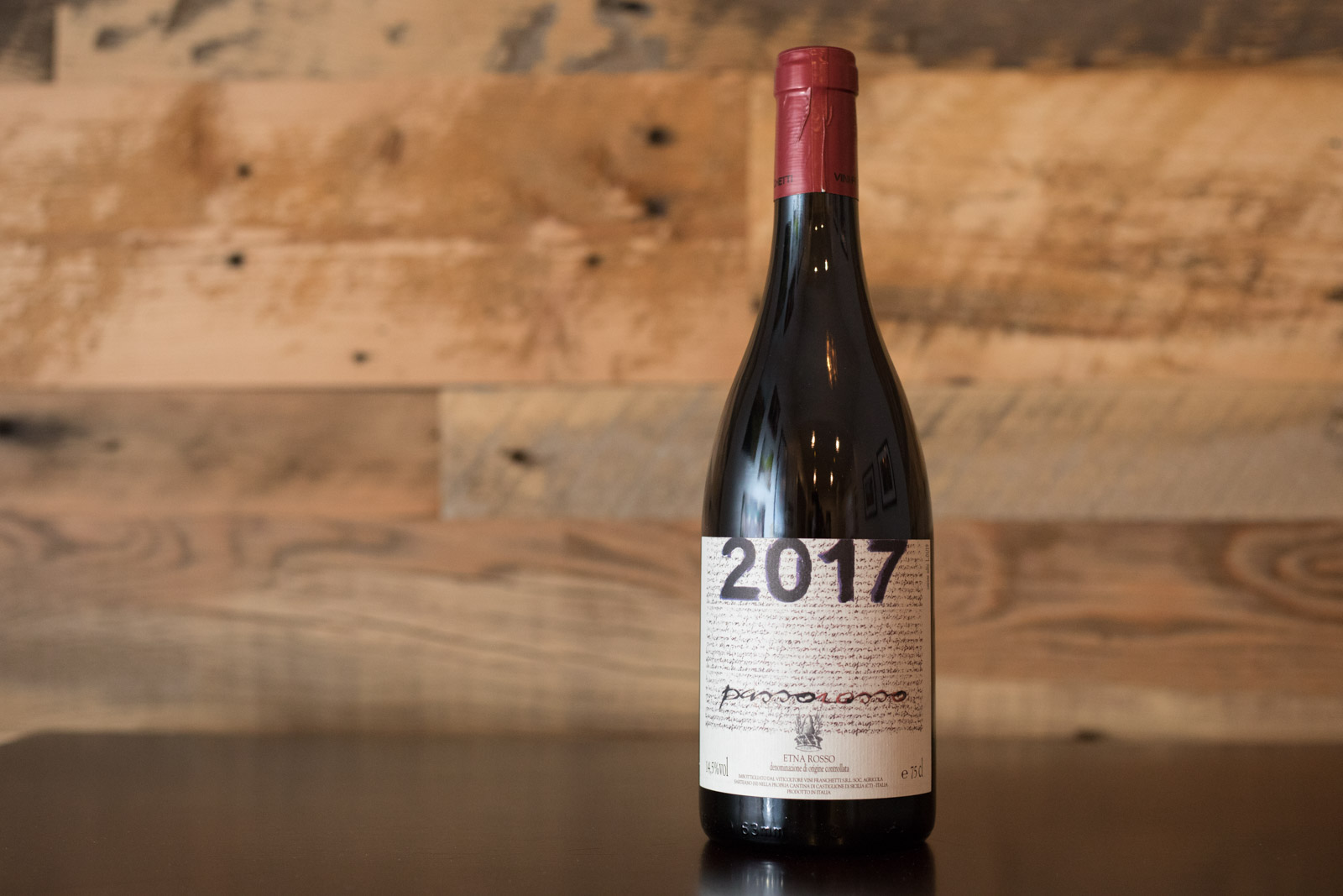 2017 Passopisciaro Etna Rosso ©Kevin Day/Opening a Bottle