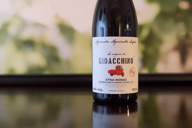 """2018 Azienda Agricola Sofia """"La Vigna di Gioacchino"""" Etna Rosso ©Kevin Day/Opening a Bottle"""