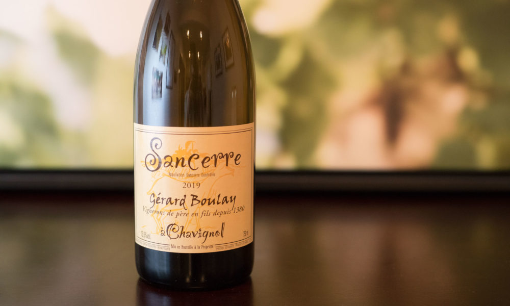 "2019 Gérard Boulay ""à Chavignol"" Sancerre ©Kevin Day/Opening a Bottle"