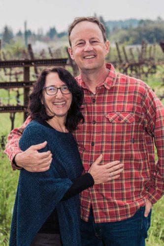 Jill and Steve Matthiasson of Matthiasson Wines in Napa. ©Matthiasson