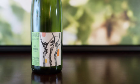 """2017 Domaine Ostertag """"Les Jardins"""" Alsace Pinot Gris ©Kevin Day/Opening a Bottle"""