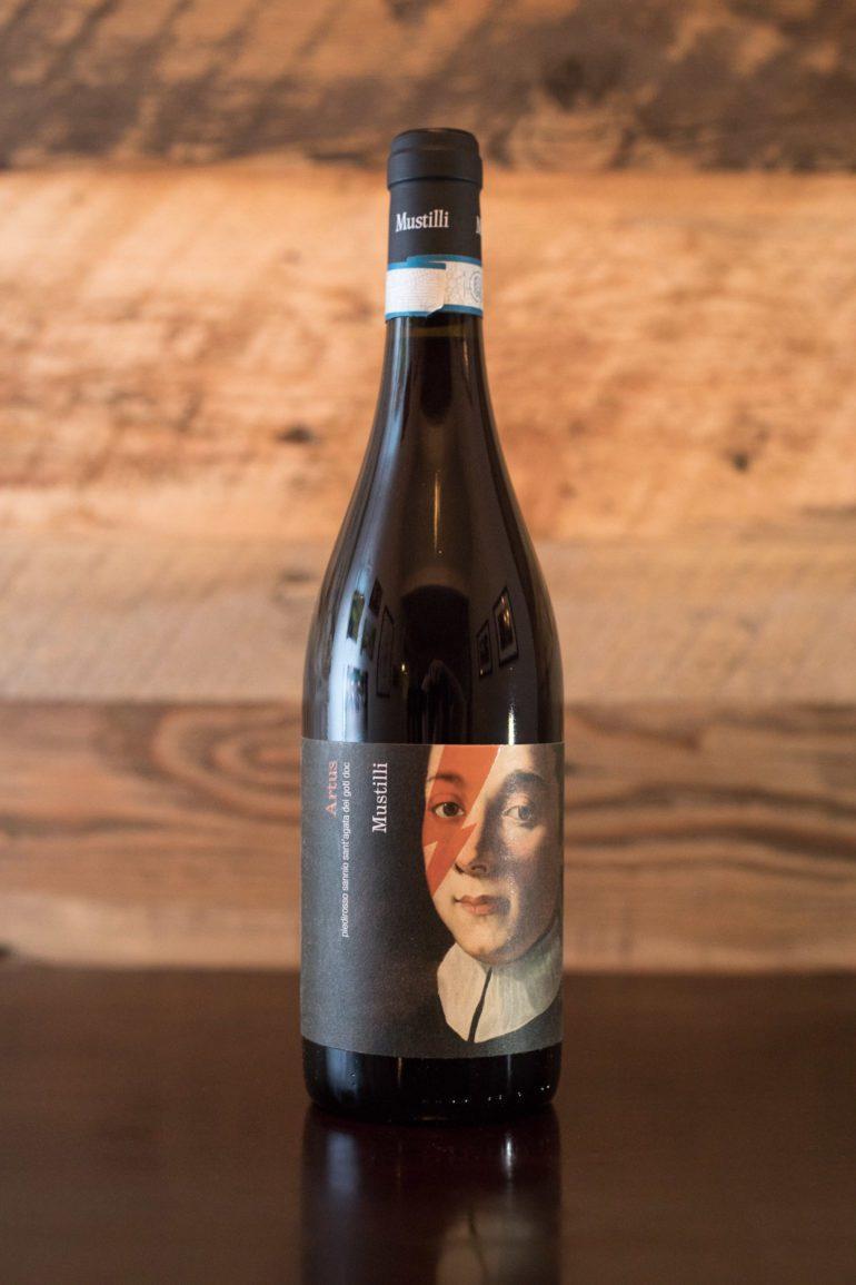 "2017 Mustilli ""Artus"" Piedirosso Sannio Sant'Agata dei Goti ©Kevin Day/Opening a Bottle"
