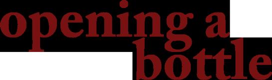 Opening a Bottle logo