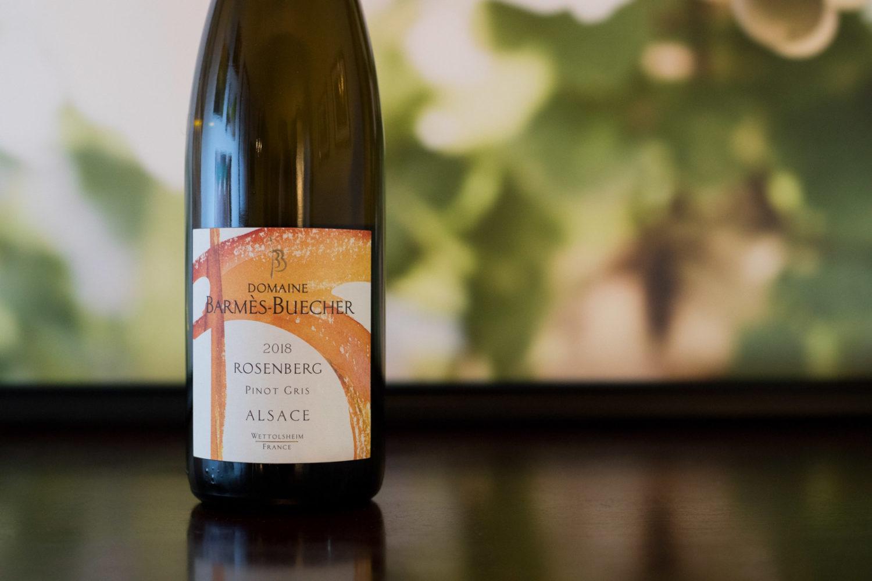 2018 Barmès-Buecher Rosenberg Alsace Pinot Gris ©Kevin Day/Opening a Bottle