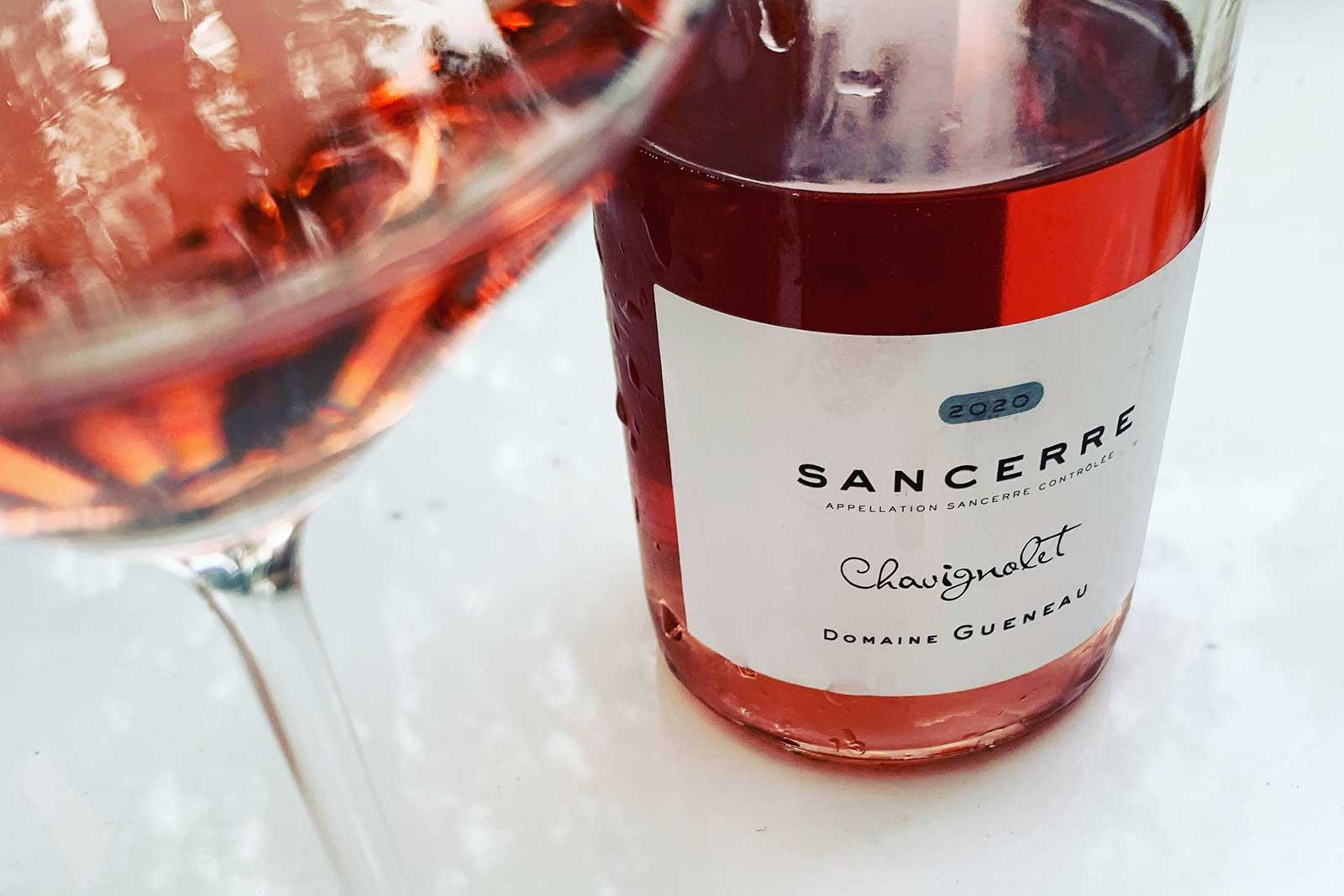 2020 Domaine Gueneau Sancerre Rosé ©Kevin Day/Opening a Bottle