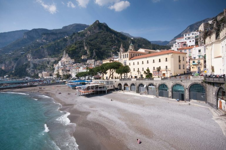 The city of Amalfi. ©Kevin Day/Opening a Bottle