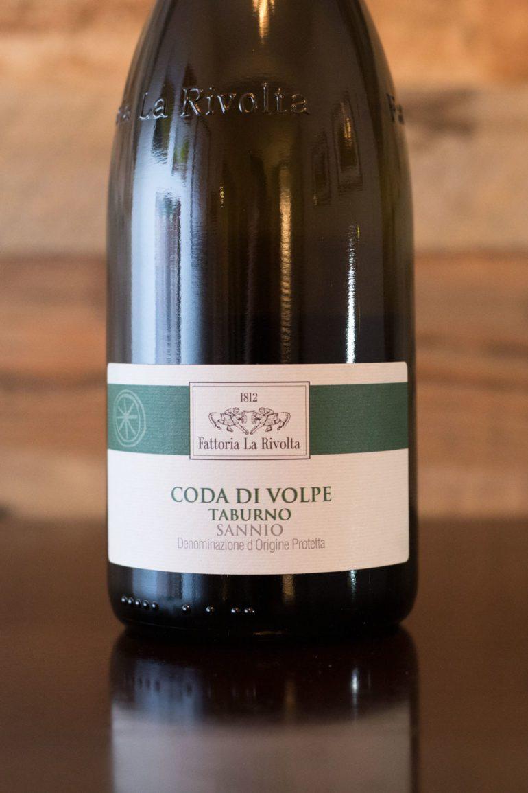 2019 Fattoria La Rivolta Coda di Volpe Sannio Taburno ©Kevin Day/Opening a Bottle