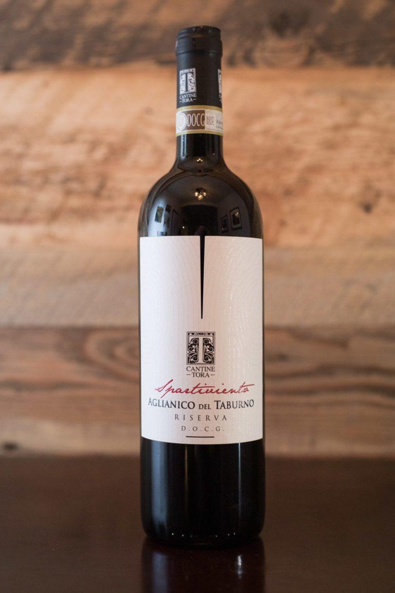 """2013 Cantine Tora """"Spartiviento"""" Aglianico del Taburno ©Kevin Day/Opening a Bottle"""