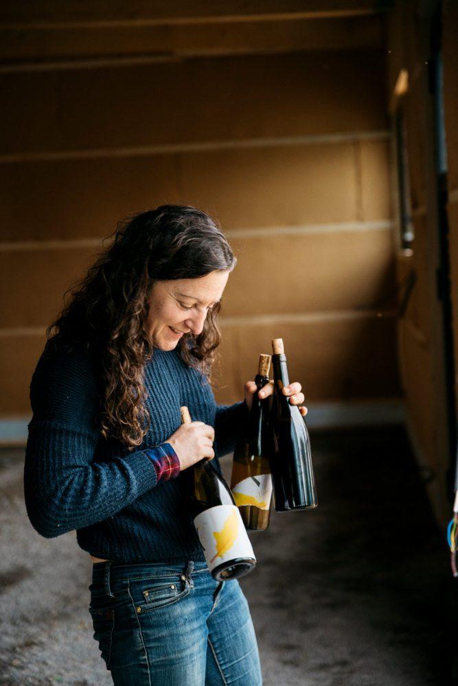 Winemaker Alice Bouvot of Domaine de l'Octavin. / ©Cecilia Magnusson