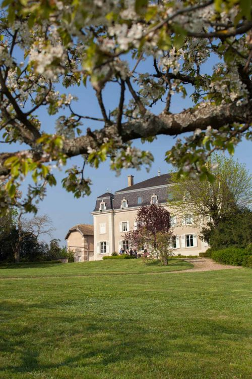 The estate home at Château du Moulin-à-Vent. ©Kevin Day/Opening a Bottle